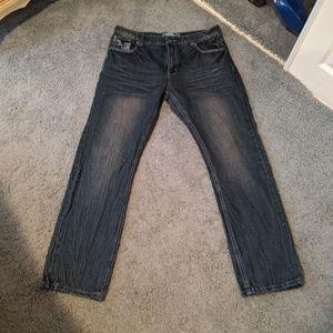 Denim rivets jeans